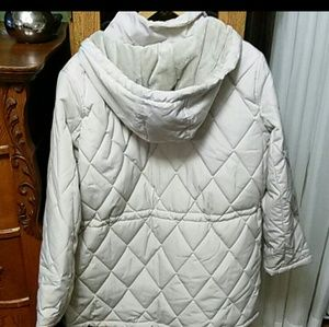 Liz Claiborne hooded coat size XL in excellent con